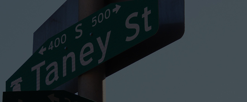 Participate in the community engagement process for renaming Taney Street